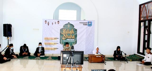 Perdana, Ramadhan Kuliah Dhuha Pemkot Tegal Secara Virtual