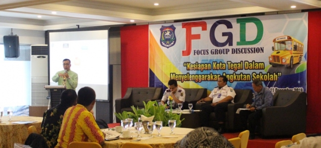 Dishub Kota Tegal Gelar FGD Kesiapan Angkutan Sekolah