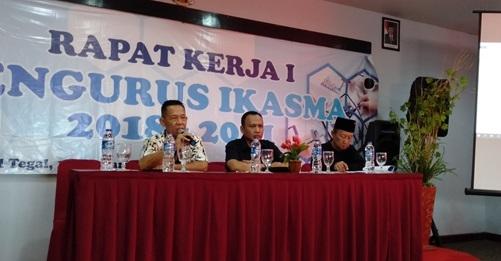 Rapat Kerja Pertama Pengurus Ikasma 2018 - 2021 Digelar