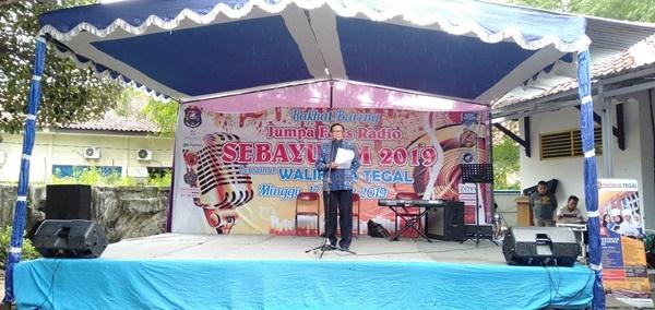 Walikota Tegal Hadiri Jumpa Fans Radio Sebayu FM