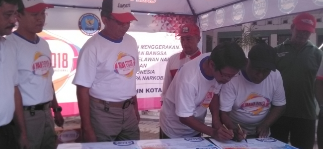 Kelurahan Panggung Jadi Percontohan Kampung Anti Narkoba
