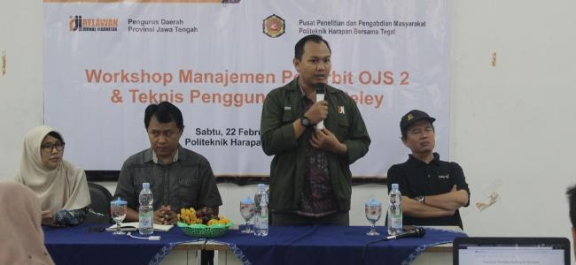 PHB Gelar Workshop Manajemen Penerbitan OJS