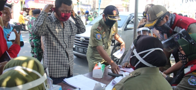 Masuk Kota Tegal Pakai Masker, Kalau Tidak Denda 100 Ribu