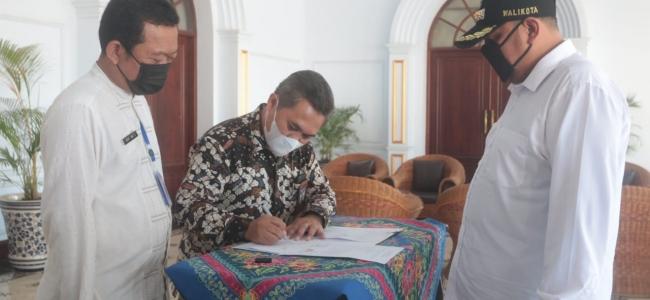 Pemkot Terima Bantuan 50 Tabung Oksigen Dari Bank Indonesia