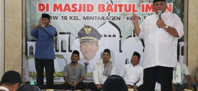 Walikota Ajak Jamaah Bersholawat Untuk Memuliakan Nabi