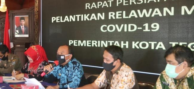 Relawan Mandiri Covid-19 Segera Dilantik. Jumadi Ingatkan Relawan Harus Didasari Niat Tulus Ikhlas.