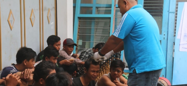 18 PGOT Terciduk Razia Gabungan Dinsos Kota Tegal