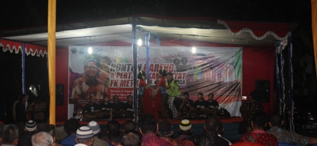Kadiskominfo Kota Tegal Hadiri FK Metra Purbalingga
