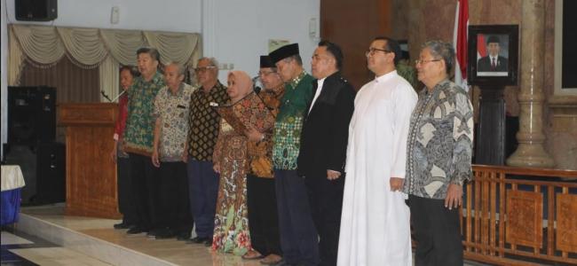 Jelang Putusan MK, Tokoh Lintas Agama Kota Tegal, Serukan Jaga Persatuan Bangsa