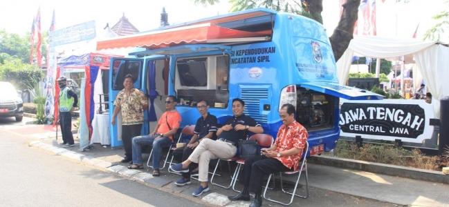 Disdukpencapil Kota Tegal Jemput Bola Ke Jakarta