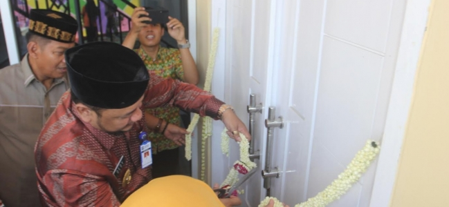 Wali Kota Resmikan Bangunan Baru SD Ihsaniyah Pusaka