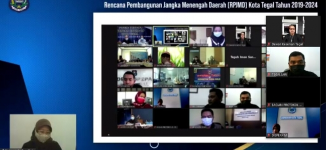 Rancangan Perubahan RPJMD, BAPPEDA Adakan Rapat Forum Konsultasi Publik (FKP)