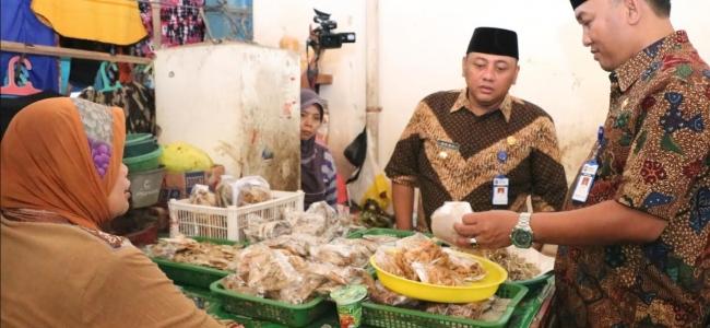 Pemkot Sidak Pasar Tradisional dan Supermarket