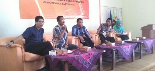 KPU Propinsi Sosialisaikan Pilgub Jateng