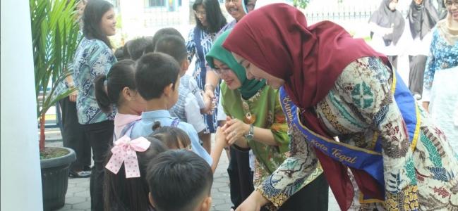 Kota Tegal Dikunjungi Tim Sekolah Sehat Tingkat Provinsi
