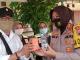Polres Tegal Kota Bagi-bagi Vitamin Untuk Awak Media