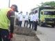 Jalan Mataram Diperbaiki