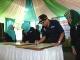 Walikota Tandatangani Prasasti Peresmian Gedung Pustu Krandon